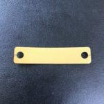 A1050 アルマイト(黄色)